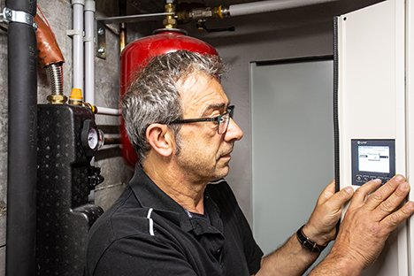 Impianto di climatizzazione integrata villetta privata Rimini